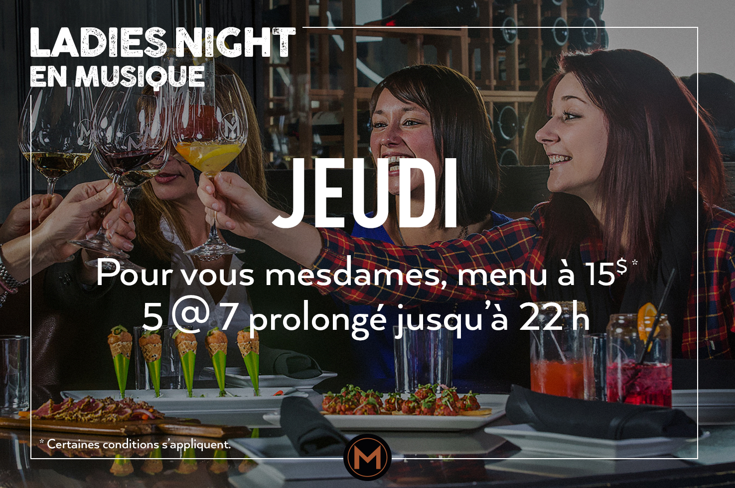 Ladies night en musique
